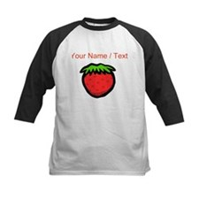 Custom Strawberry Cartoon Baseball Jersey