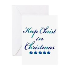Keep Christ in Christmas Greeting Cards