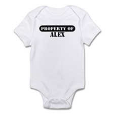 Property of Alex Infant Bodysuit