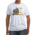 Weapons of Mass Dependency Fitted T-Shirt
