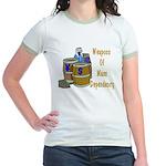 Weapons of Mass Dependency Jr. Ringer T-Shirt