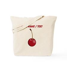 Custom Red Cherry Tote Bag