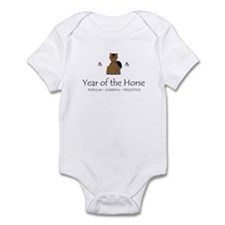 """Year of the Horse"" Infant Bodysuit"