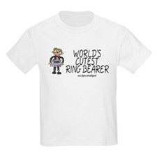 World's Cutest Ringbearer Kids T-Shirt