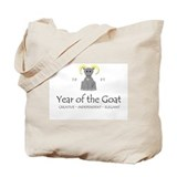 """Year of the Goat"" [1991] Tote Bag"
