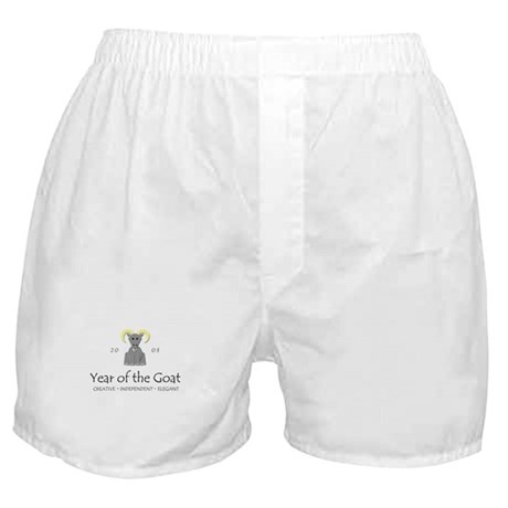 """Year of the Goat"" [2003] Boxer Shorts"