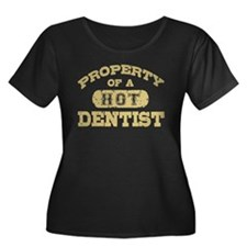Property of a Hot Dentist Women's Plus Size Scoop
