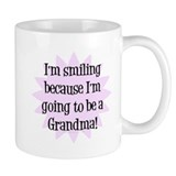 Going to be a Grandma! Small Mug