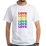 Love Love Love (Rainbow) Shirt