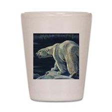 Vintage Polar Bear Shot Glass