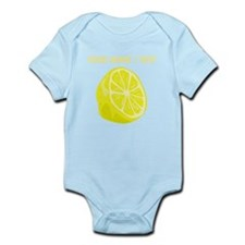 Custom Sliced Lemon Body Suit