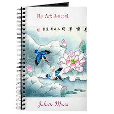 Beautiful Personalized Oriental Motif Journal