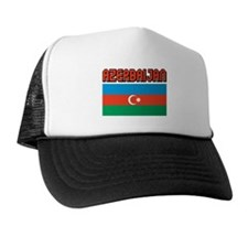 Azerbaijan Flag Trucker Hat