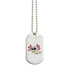 Cartoon Axolotl Dog Tags