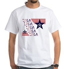 USA Red, White and Blue Shirt