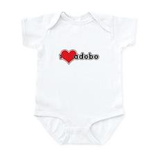 """""""I Love Adobo"""" Infant Bodysuit"""