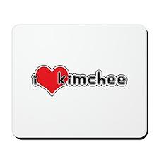 """I Love Kimchee""  Mousepad"