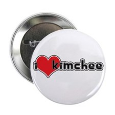 """I Love Kimchee"" Button"
