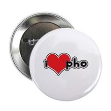 """I Love Pho"" Button"