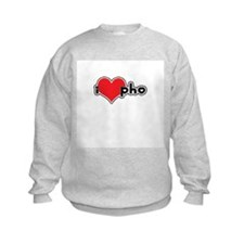 """I Love Pho"" Sweatshirt"