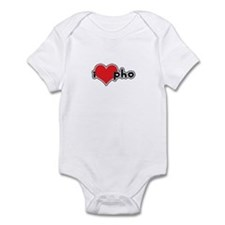"""I Love Pho"" Infant Bodysuit"