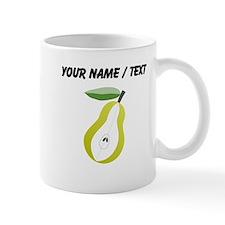 Custom Pear Mugs