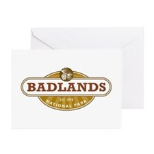 Badlands National Park Greeting Cards