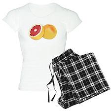 Grapefruit pajamas