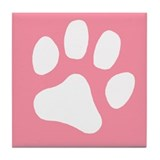 Paw Box Tile Coaster