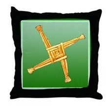 Brigit's Cross Throw Pillow
