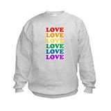 Love Love Love (Rainbow) Sweatshirt