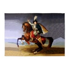 Noble Horseman 5'x7'Area Rug
