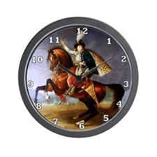 Noble Horseman Wall Clock
