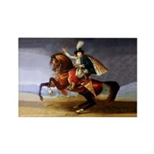 Noble Horseman Rectangle Magnet