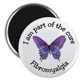 "Fibromyalgia Awareness 2.25"" Magnet (10 pack)"