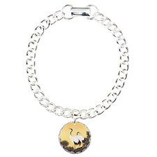Japanese Crane Bracelet