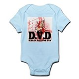 Devilish Valentine Diva Infant Bodysuit