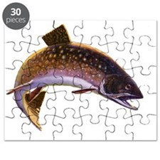 Vintage Fishing, Trout Fish Puzzle