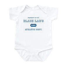 Black Lab Infant Creeper