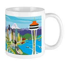 Space Needle Mugs