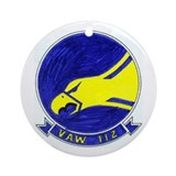 VAW 112 Golden Hawks Ornament (Round)