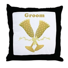 groom pillow