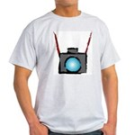 WTD: Camera On Ash Grey T-Shirt