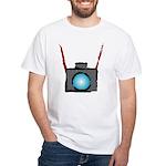 WTD: Camera On White T-Shirt