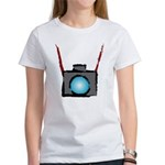 WTD: Camera On Women's T-Shirt