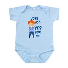 Vote Yes Boy Infant Bodysuit