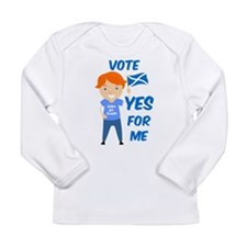 Vote Yes Boy Long Sleeve Infant T-Shirt