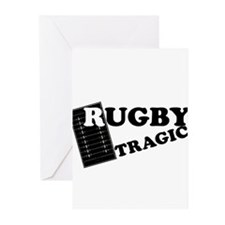 Rugby Tragic Greeting Cards (Pk of 10)