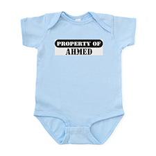 Property of Ahmed Infant Bodysuit