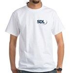 SDL White T-Shirt